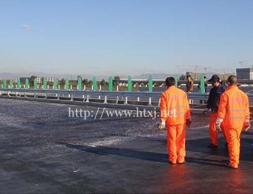 邢衡高速桥面防水施工
