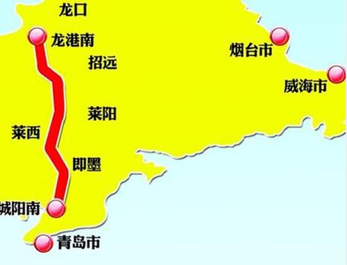 青龙高速华山南互通立交C匝道桥