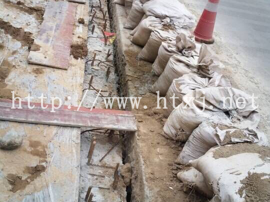 云南省昭通市--南佛公路伸缩缝安装改造